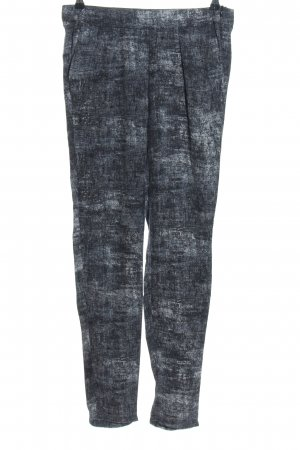 Mexx Chinohose blau Webmuster Casual-Look