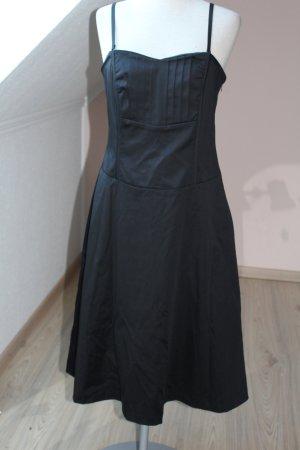 Mexx Cocktailkleid schwarz trägerlos Corsagenkleid Gr. D 38 S M neu