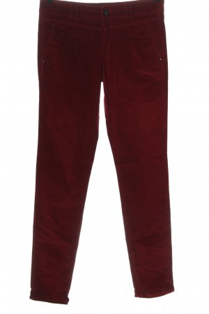 Mexx Corduroy Trousers red casual look