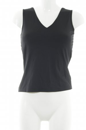 Mexx Top cut out negro estilo fiesta