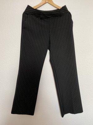 Mexx Pantalón de vestir negro-blanco