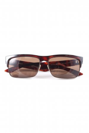 Mexx Angular Shaped Sunglasses black-red casual look