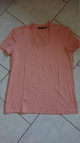 MEXX edles Shirt in apricot Turtle Neck Gr 42 XL Stehkragen