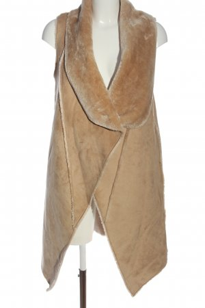Mexx Fake Fur Vest cream casual look