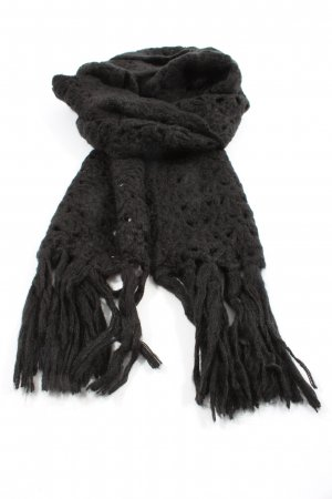 Mexx Fringed Scarf black casual look