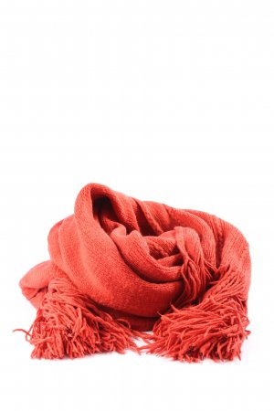 Mexx Fringed Scarf red casual look