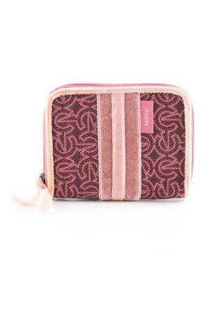 Mexx Geldbörse pink grafisches Muster Casual-Look