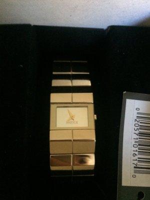 MEXX - goldene Armbanduhr - sehr schick, elegant, ungetragen