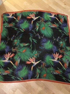 MEXX Halstuch Tuch mit Dschungelmotiv, NEU und ungetragen