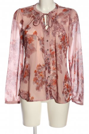 Mexx Hemd-Bluse pink Blumenmuster Casual-Look