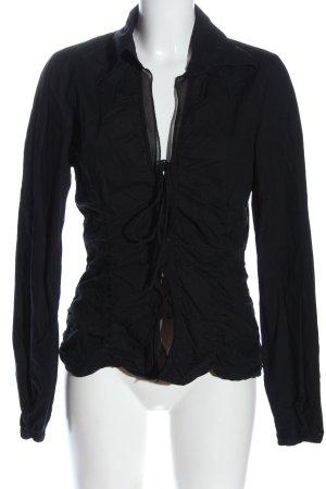 Mexx Hemd-Bluse schwarz Elegant