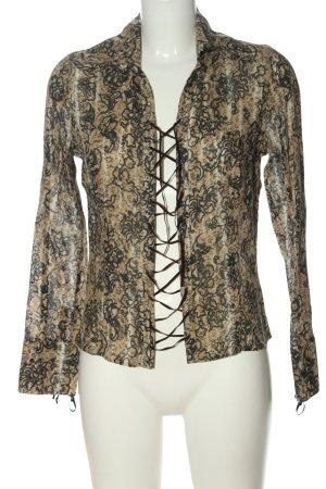 Mexx Hemd-Bluse abstraktes Muster Elegant