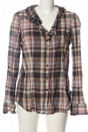 Mexx Hemd-Bluse Karomuster Casual-Look