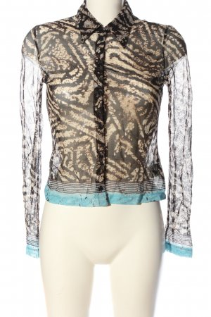Mexx Hemd-Bluse abstraktes Muster Casual-Look