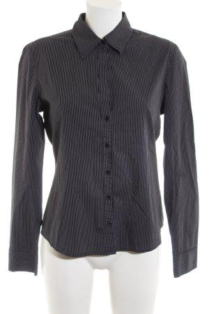 Mexx Hemd-Bluse schwarz-weiß Streifenmuster Business-Look