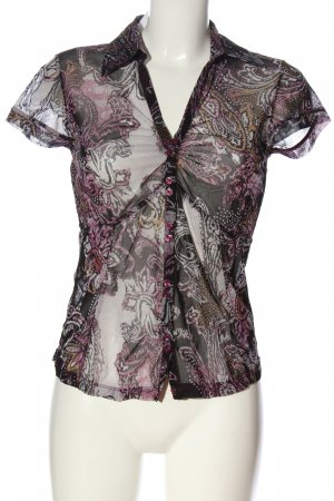 Mexx Hemd-Bluse Allover-Druck Casual-Look
