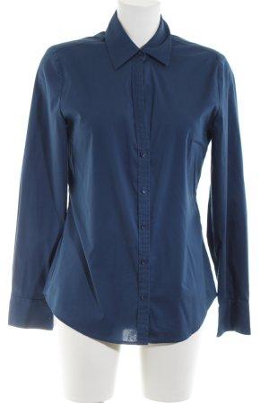 Mexx Hemd-Bluse blau Business-Look