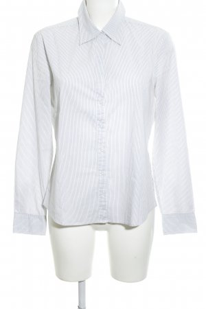 Mexx Hemd-Bluse weiß Streifenmuster Business-Look