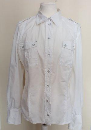 Mexx Koszulowa bluzka biały