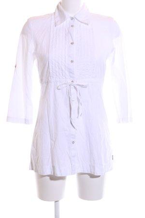 Mexx Robe chemise blanc style d'affaires
