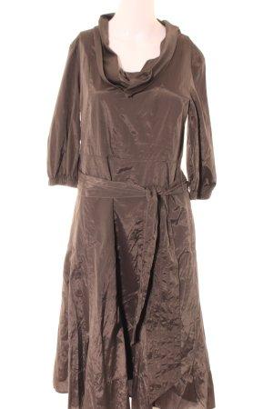Mexx Robe chemise brun style décontracté