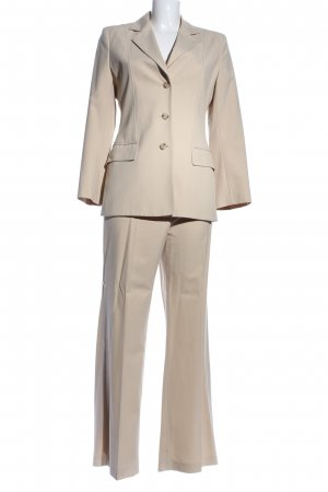 Mexx Tailleur-pantalon crème style d'affaires