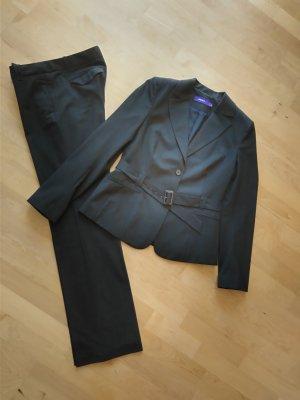 Mexx Zakelijk pak zwart-donkergrijs Viscose