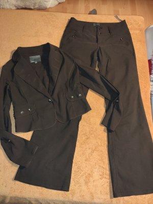 Mexx Trouser Suit bronze-colored