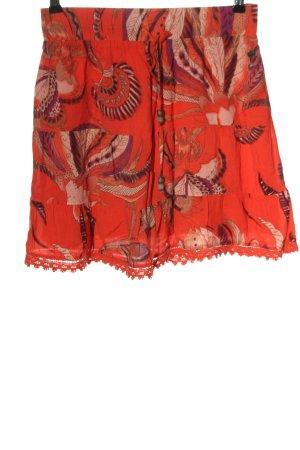 Mexx High Waist Skirt red-black allover print casual look