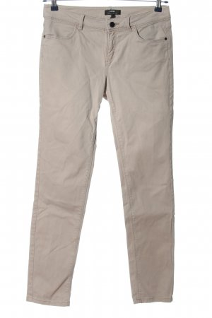 Mexx Lage taille broek room casual uitstraling