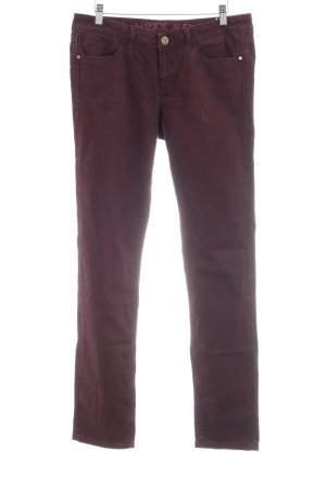 Mexx Hüfthose purpur-braunviolett Casual-Look