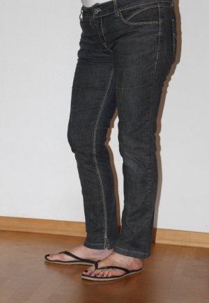 Mexx Jeans vita bassa grigio scuro Cotone