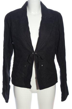 Mexx Blazer en jean noir style d'affaires