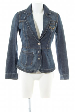 Mexx Jeansjacke blau Street-Fashion-Look