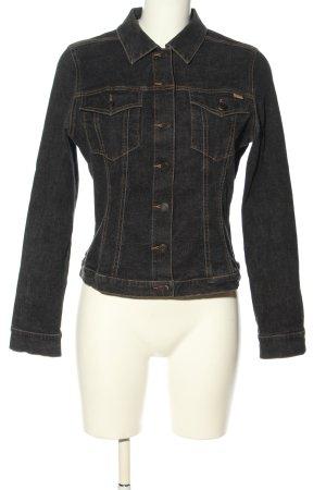 Mexx Veste en jean gris clair style décontracté