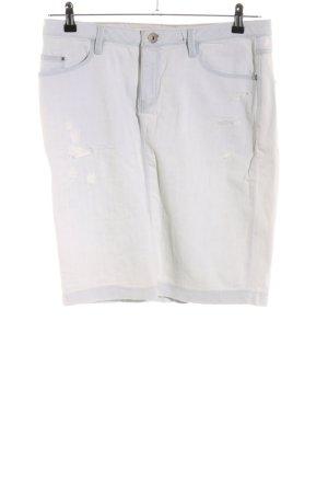 Mexx Gonna di jeans grigio chiaro stile casual