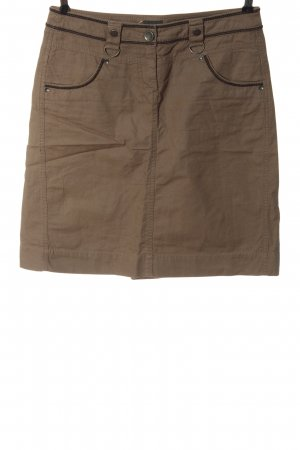 Mexx Jupe en jeans brun style décontracté