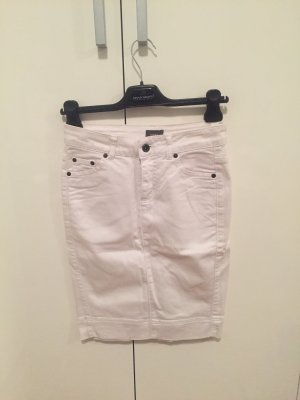 Mexx Jeansowa spódnica biały