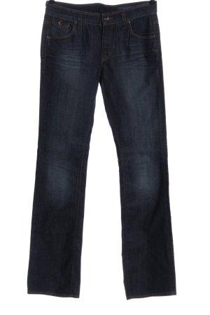 Mexx Jeansschlaghose blau Casual-Look