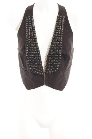Mexx Jeansweste schwarz Elegant