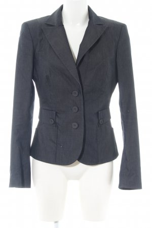 Mexx Jerseyblazer blau Business-Look