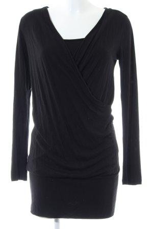 Mexx Jerseykleid schwarz Casual-Look