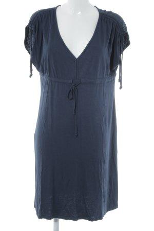 Mexx Jerseykleid dunkelblau Casual-Look