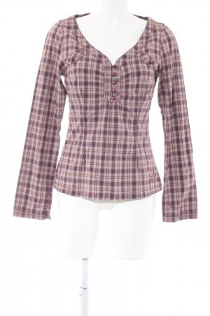 Mexx Karobluse Karomuster Casual-Look
