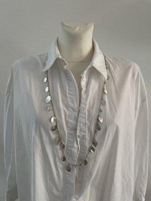 Mexx Kette Silber mit Steinen und Ohrringe