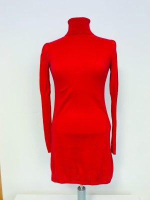 Mexx Swetrowa sukienka czerwony Bawełna