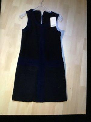 MEXX Kleid schwarz blau Gr. 36 Neu!
