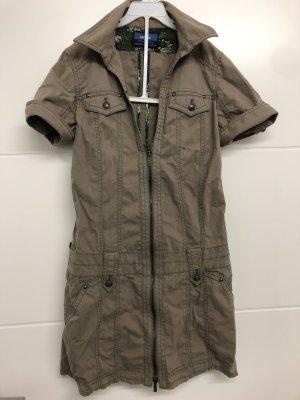 Mexx Kleid Tunika Jacket Jackenkleid Safari