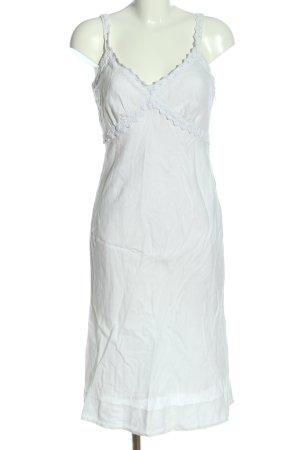 Mexx Letnia sukienka biały Len