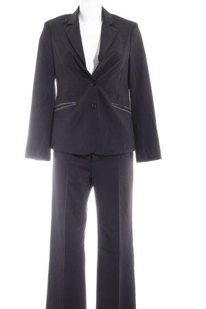 Mexx Kostüm schwarz-grau Business-Look
